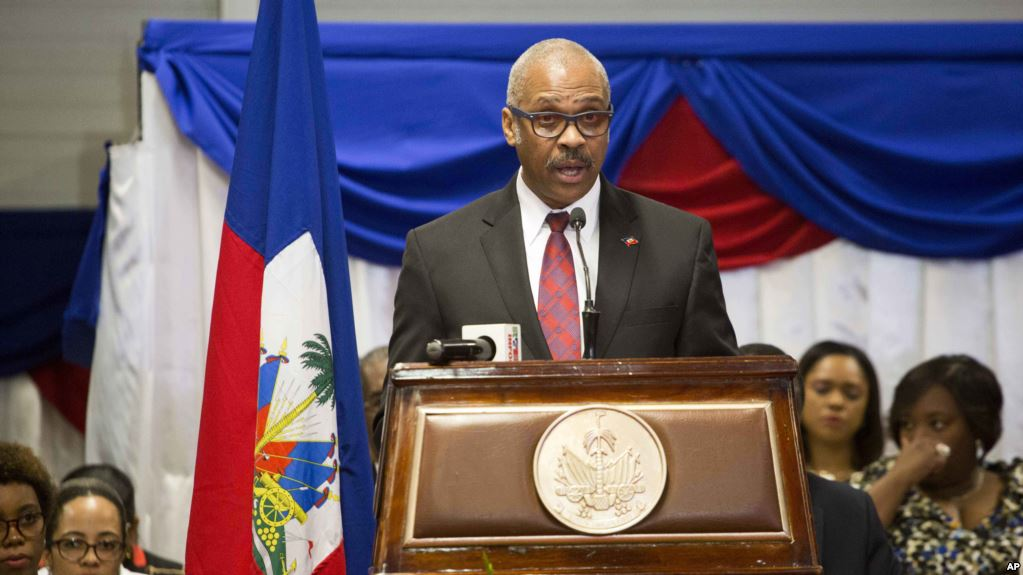The Prime Minister of Haiti, Jack Guy Lafontant, gave his resignation on Saturday to the President of the Republic Jovenel Moïse.