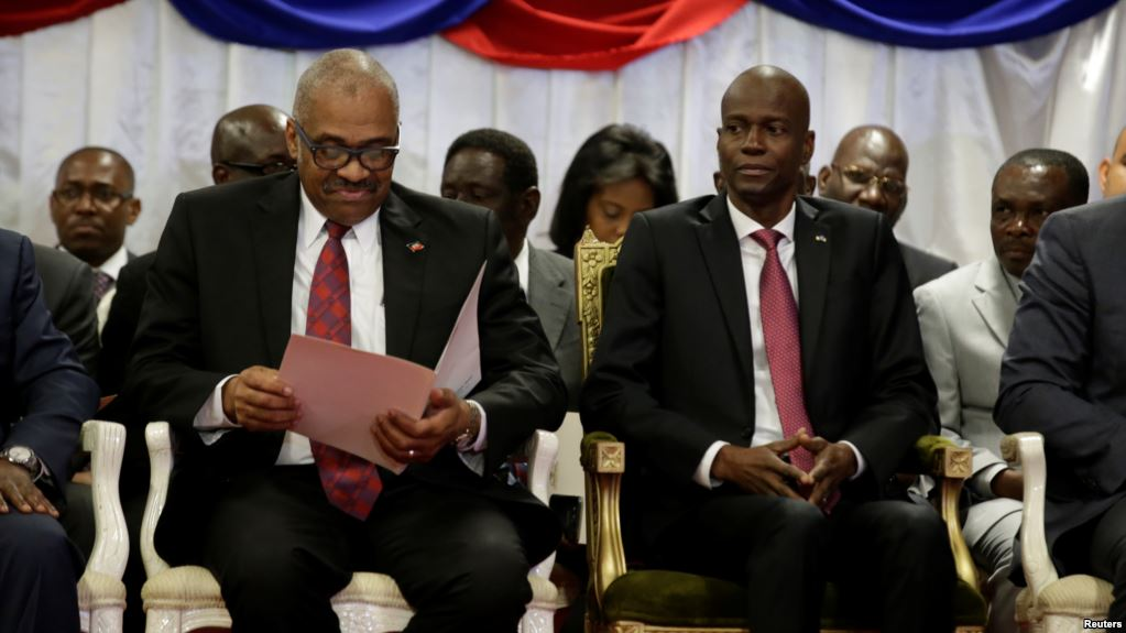 Image result for jovenel moise and guy lafontant