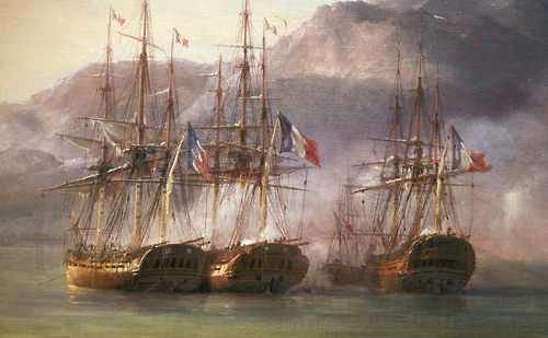 Colonial navy of France