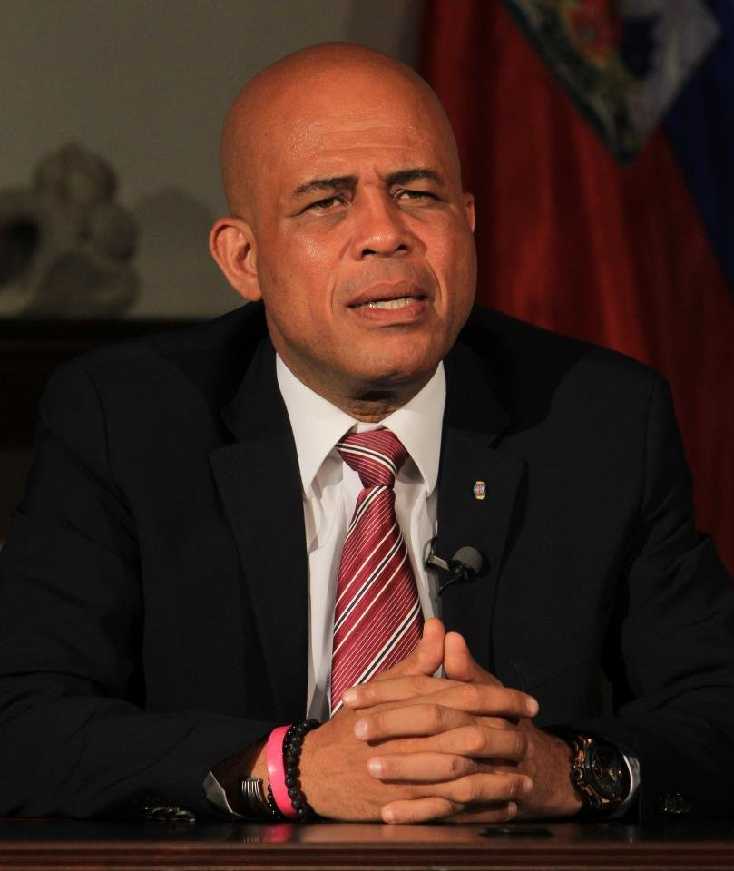 Michel Martell, current president of haiti