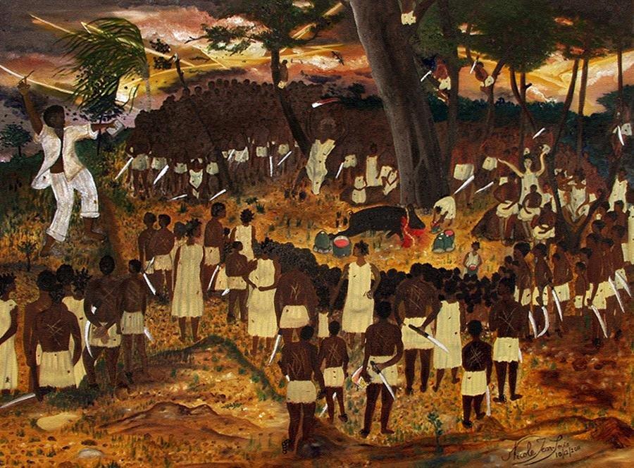 Bois Caiman, slave revolt