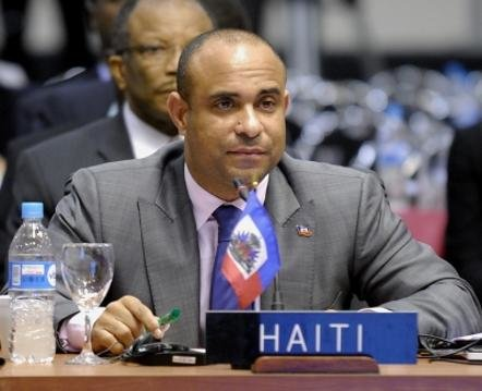 Prime minister of Haiti, laurent lamothe